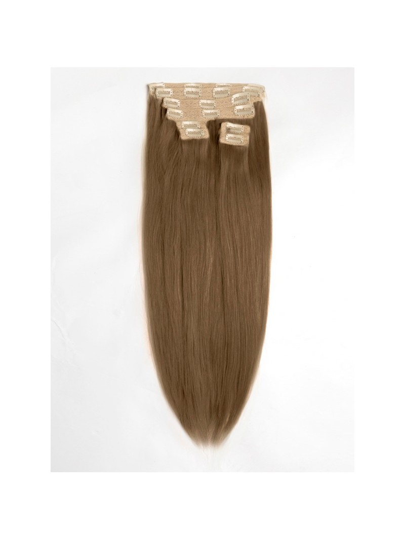 nat rlich hellbraun indisch remy clip in hair extensiosn. Black Bedroom Furniture Sets. Home Design Ideas