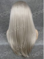 "4"" #7 Waist-length Straight Synthetic Lace Wig-SNY017"