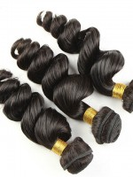 Loose Wave 100% Virgin Remy Clip In Hair Weave SDH003