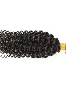 Wellige Lockige 100% Rein Remy Clip in Haar Weaves CDH001