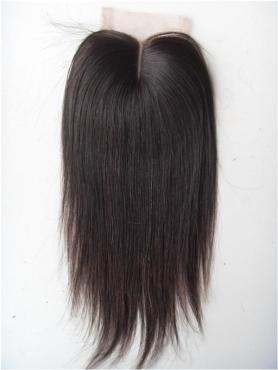 Glatt 100% Rein Remy Clip In Haar Closures CLD004